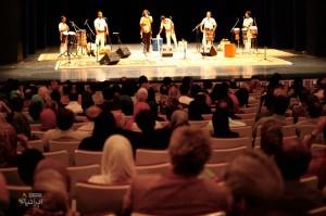 کنسرت گروه لیان (برای بزرگنمایی تصویر کلیک کنید)