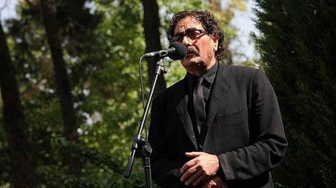 گزارش مراسم تشییع پیکر استاد احمد ابراهیمی
