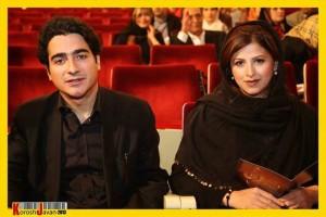 همایون شجریان به همراه همسرش در جشن موسیقی ما+عکس