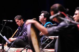 کنسرت محمد معتمدی (برای بزرگنمایی تصویر کلیک کنید)