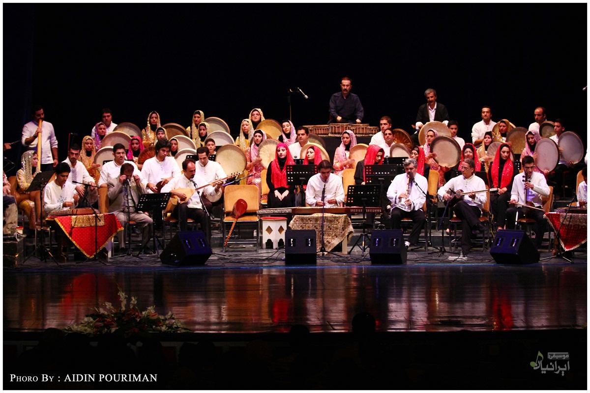 موسیقی کردی در تالار وحدت تهران اجرا شد