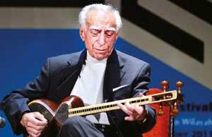 گفتوگوی منتشر نشده با زنده یاد حافظی نوازنده برجسته تار
