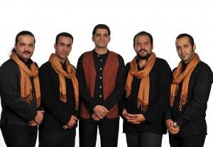 اعضای  گروه موسیقی  «به رنگ کهربا»