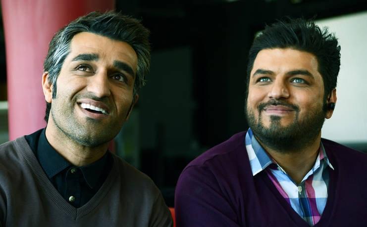 با همکاری اهالی مطرح موسیقی پاپ ایران