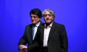 اساتید عزتالله انتظامی و محمدرضا شجریان