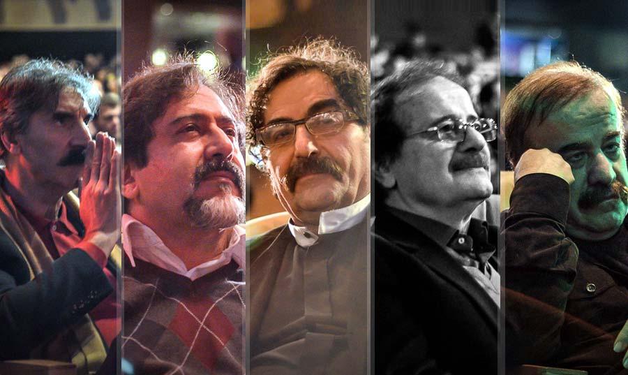 اجرای کایری ها با حضور علی جهاندار، شهرام ناظری، صدیق تعریف، حسام الدین سراج، بیژن بیژنی و مجید درخشانی