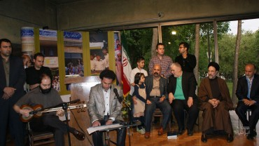 اجرای وحید تاج و سلمان سالک (برای بزرگنمایی تصویر کلیک کنید)