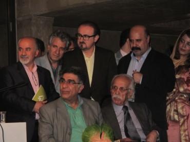 آیین افتتاحیه نمایشگاه آثار خوشنویسان (برای بزرگنمایی تصویر کلیک کنید)
