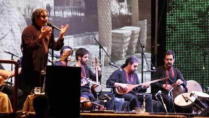 شوالیه آواز ایران پس از یک دهه در زادگاهش به روی صحنه رفت