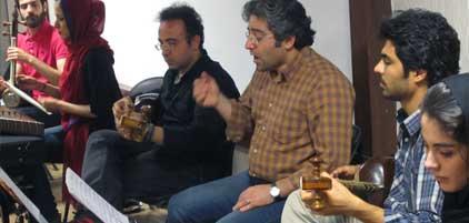 گزارش تصویری موسیقی ایرانیان از تمرین این گروه برای برگزاری کنسرت
