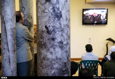 مراسم نکوداشت استاد شهناز (برای بزرگنمایی تصویر کلیک کنید)