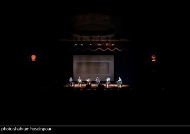 کنسرت گروه کهن (برای بزرگنمایی تصویر کلیک کنید)