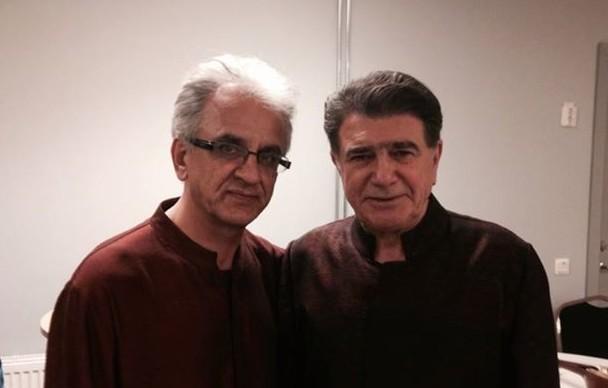 محمدرضا شجریان و سعید فرج پوری