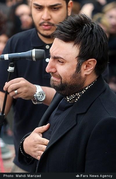 تشییع پیکر مرتضی پاشایی (برای بزرگنمایی تصویر کلیک کنید)