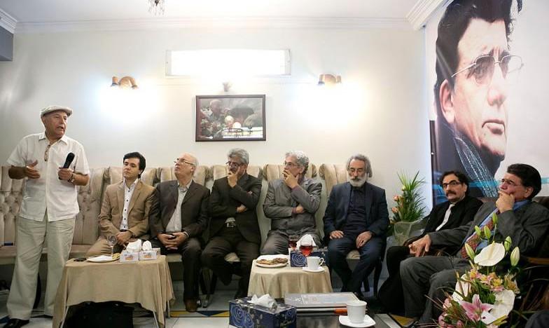 پرویز کلانتری در جشن تولد استاد شجریان