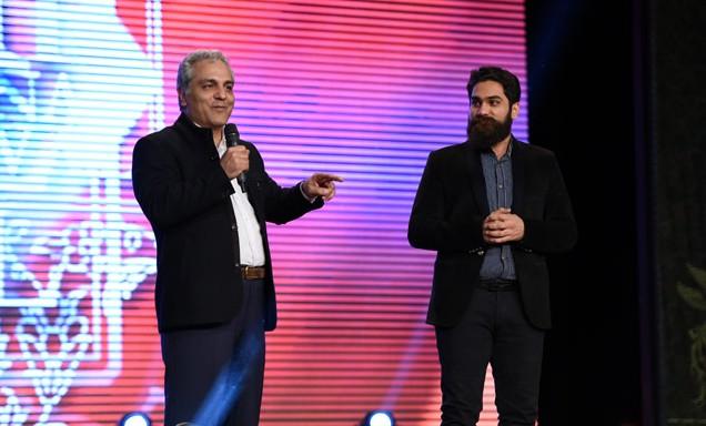 در اختتامیه جشنواره فیلم فجر