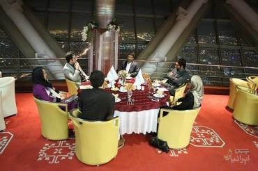 میهمانی شام با علی لهراسبی (برای بزرگنمایی تصویر کلیک کنید)