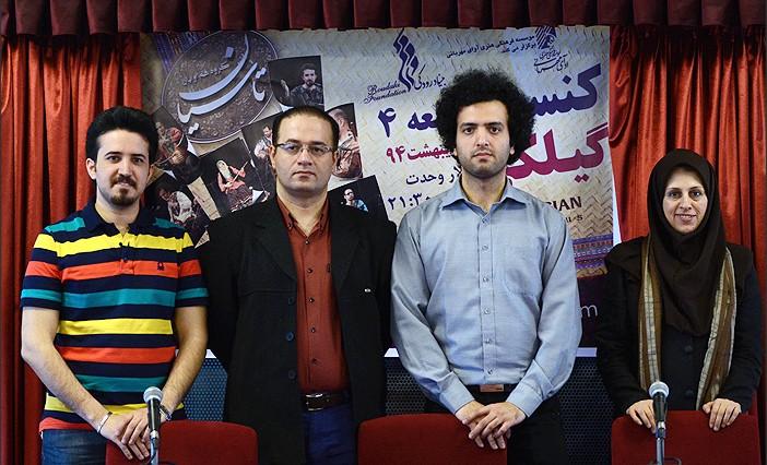 حسین تقینژاد: محوریت کار گروه بر پایه موسیقی گیلانی است