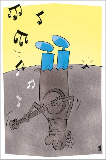کاریکاتور از «محسن ایزدی»