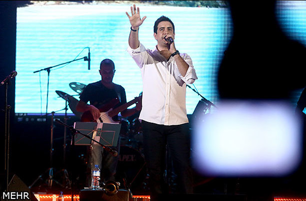 گزارش کنسرت امید حاجیلی