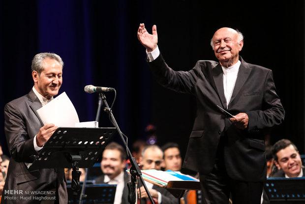 کنسرت ارکستر موسیقی ملی برگزار شد
