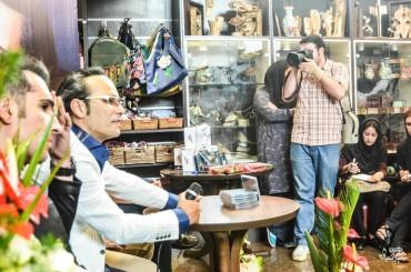 مراسم رونمایی آلبوم شهرام شکوهی