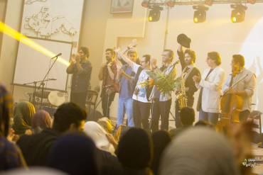 کنسرت گروه «دنگ شو» در رشت