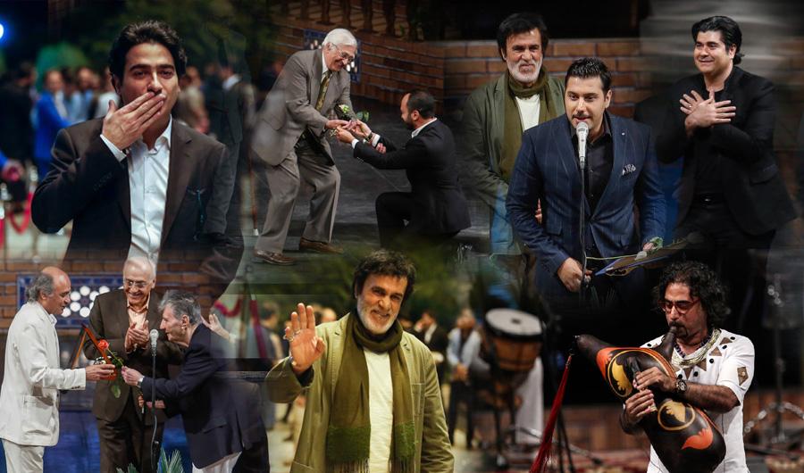 با حضور گسترده چهره ها و بزرگان موسیقی ایران