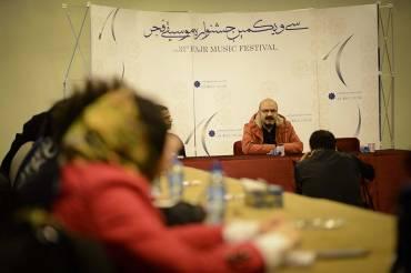 گزارش نشست خبری جشنوراه موسیقی فجر