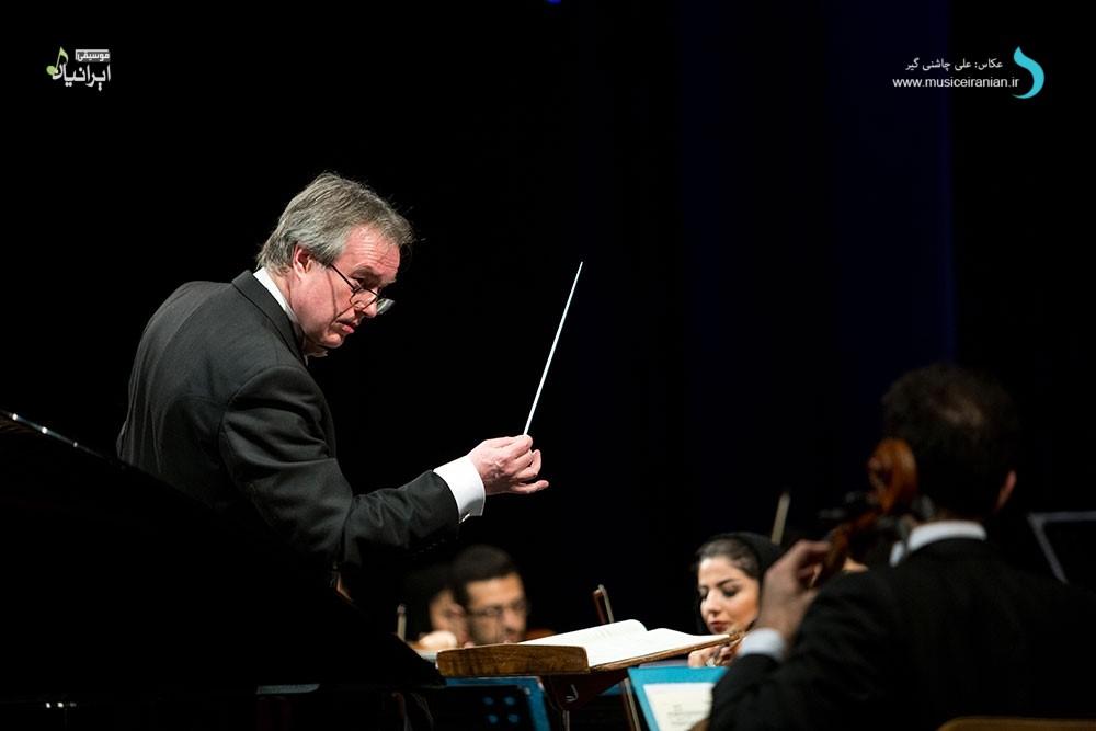 «نوین افروز» ارکستر سمفونیک تهران را همراهی کرد