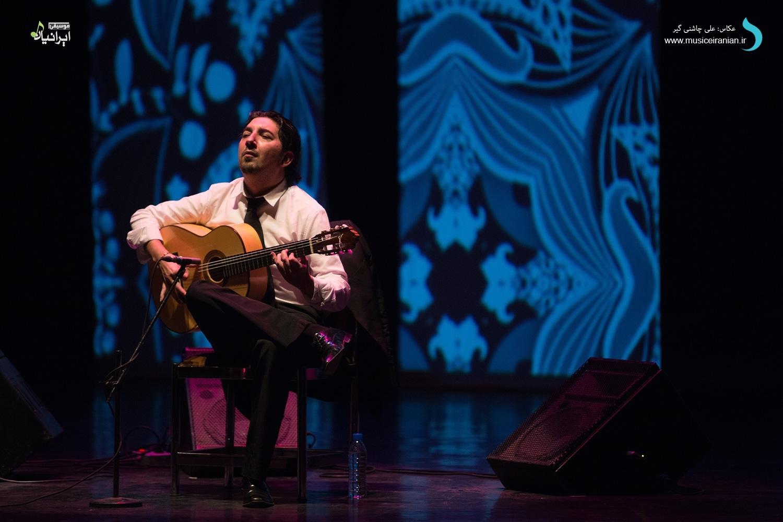 گزارش متنی و تصویری «موسیقی ایرانیان» از کنسرت «آنتونیو ری»