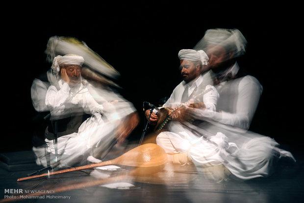 در آیین اختتامیه نهمین جشنواره موسیقی نواحی ایران صورت می گیرد