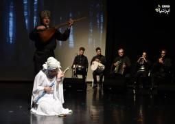 هنرمندی گروه «عاشقلار» آذربایجان در تهران