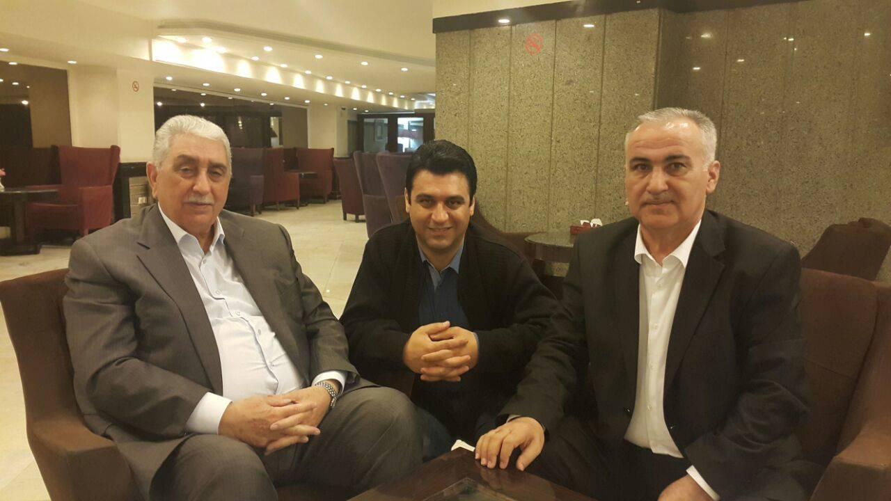 «عارف بابایف» و «غضنفر عباساف» وارد ایران شدند