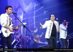 گزارش متنی و تصویری «موسیقی ایرانیان» از کنسرت پرشور «گروه سون»