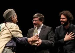 تجلیل از هنرمندان و گروه های شرکت کننده با حضور وزیر فرهنگ و ارشاد اسلامی
