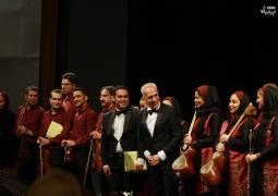 گزارش تصویری «موسیقی ایرانیان» از اجرای «ارکستر ملی مهر»