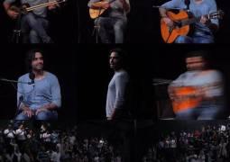 کنسرت علی قمصری روی صحنه رفت