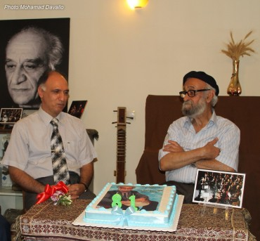 جشن تولد محمد اسماعیلی