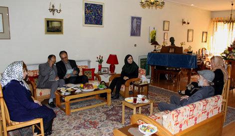 همسر هنرمند استاد حسین دهلوی، از فعالیتهای موسیقایی خود نیز سخن گفت