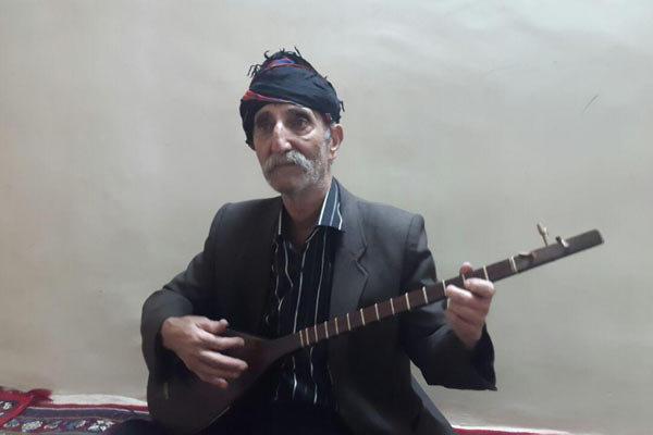 تنبورنواز پیشکسوت کرمانشاهی