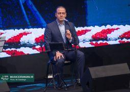گزارش تصویری سایت «موسیقی ایرانیان» از اجرای «علیرضا قربانی» در مراسم افتتاحیه سی و پنجمین جشنواره فیلم فجر