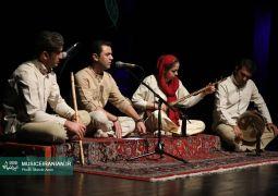 گزارش تصویری «موسیقی ایرانیان» از گروه موسیقی «آن» در جشنواره موسیقی فجر