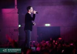 گزارش تصویری «موسیقی ایرانیان» از اجرای پرشور محسن یگانه در شهر تهران