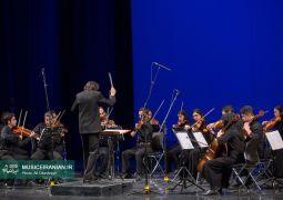 گزارش تصویری «موسیقی ایرانیان» از اجرای ارکستر «نیلپر» در جشنواره موسیقی فجر