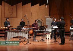 گزارش متنی و تصویری «موسیقی ایرانیان» از کنسرت «آنسامبل پرکاشن تهران»