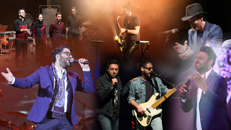 گزارش های مفصل از متن و حاشیه اجراهای پنجمین روز جشنواره موسیقی فجر