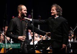 گزارش تصویری سایت خبری و تحلیلی «موسیقی ایرانیان» از آخرین اجرای ارکستر سمفونیک تهران در سال ۹۵