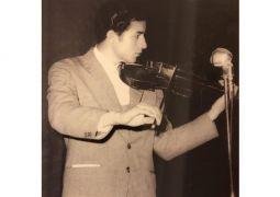 از نوازندگان پیشکسوت ویولن و تار، در سن ۷۸ سالگی