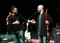 در حضور «سیروان خسروی» به عنوان مخاطب این کنسرت